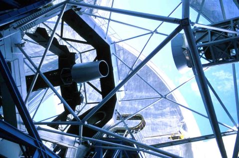 Keck II telescope - Image  Credit: W. M. Keck Observatory