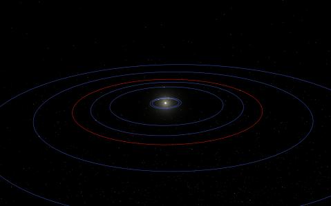 The inner system of KOI-351